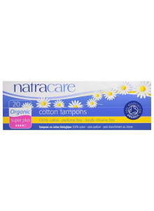 Tampons, super, 20pcs / Natracare