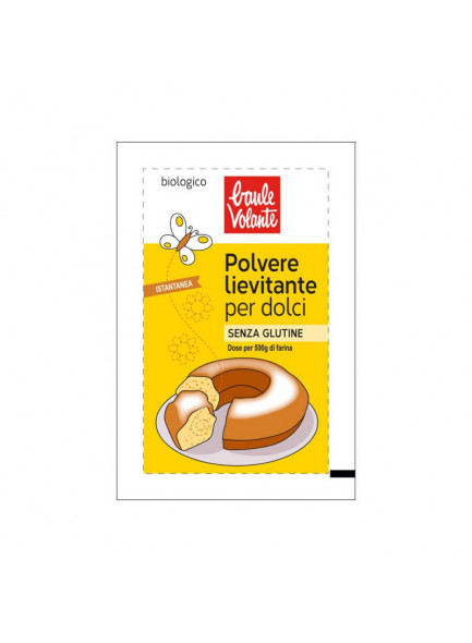 Baking powder, 3x18g / Baule Volante