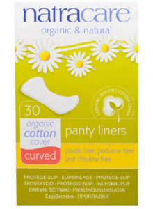 Panty liners, mini, 30tk / Natracare
