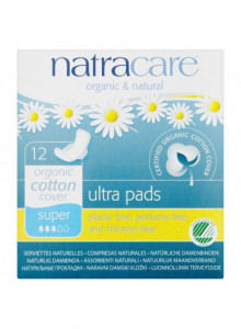 Ultra pads, regular, 14pcs / Natracare