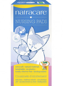 Nursing pads, 26pcs / Natracare