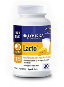 Lacto seedeensüümid, 30 kapslit / Enzymedica