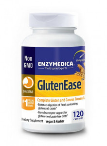 GlutenEase, 120 capsules / Enzymedica