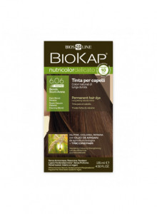 Краска для волос Biokap Nutricolor Rapid 6.06  / Dark blond Havana