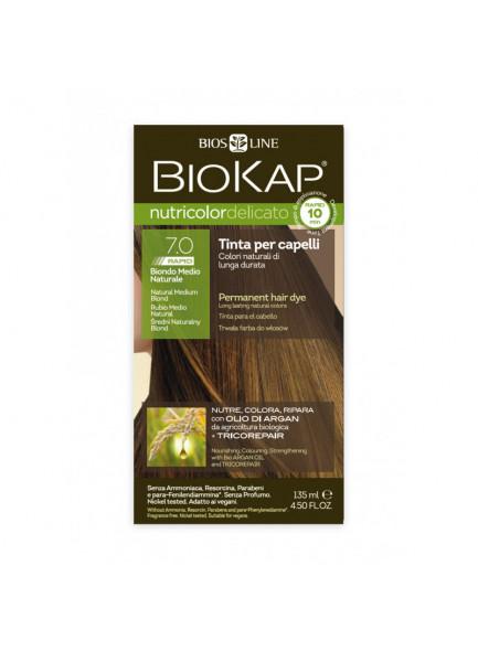 Biokap Nutricolor Delicato Rapid 7.0 / Naturaalne keskmine blond / püsivärv