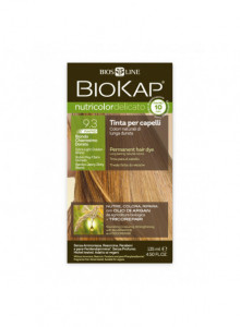 Biokap Nutricolor Delicato Rapid 9.3 / Extra Light Golden Blond  / Hair Dye