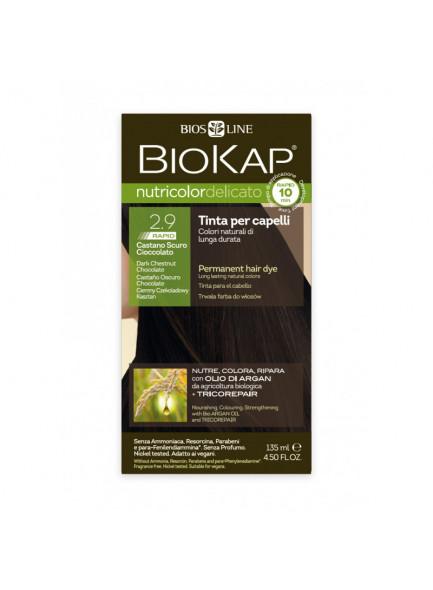 Biokap Nutricolor Delicato Rapid 2.9 / Tume šokolaadikastan / püsivärv