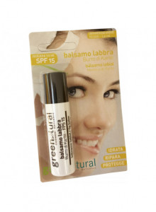 Huulepalsam SPF15, 5,6ml / Greenatural