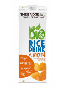 Rice drink with almond, 1l / The Bridge