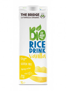 Rice drink with vanilla, 1l / The Bridge