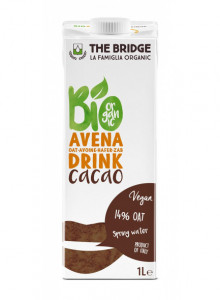 Oat drink with cocoa, 1l / The Bridge