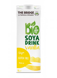 Sojajook vanilliga, 1l / The Bridge