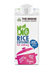 Cream, rice cream, 200g / The Bridge