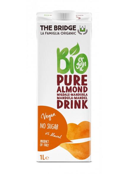 Suhkruvaba mandlijook 6%, 1l / The Bridge