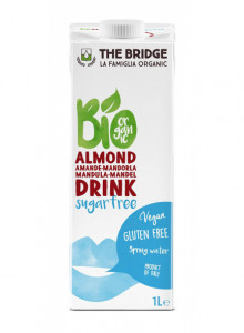 Sugar free Almond drink, 1l / The Bridge