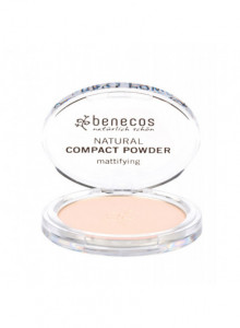 Compact Powder Fair, 9g / Benecos