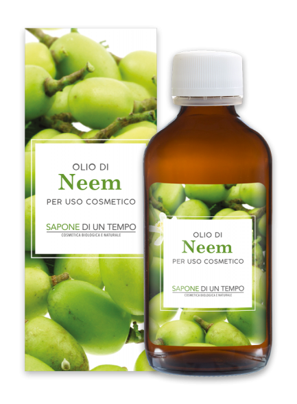 Neem oil, cold pressed, 100ml