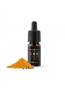 CBD 5% gocce con curcumina e pepe nero