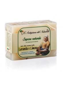 Лимонное мыло с лавандой