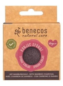 Konjac Sponge with Bamboo Charcoal