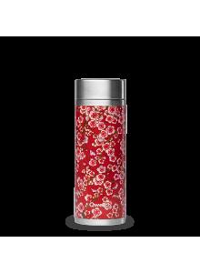 Teetermos, punased lilled