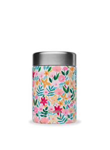 Toidutermos, roosad lilled