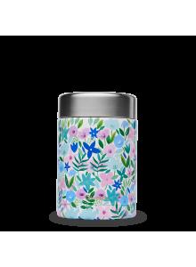 Toidutermos, sinised lilled