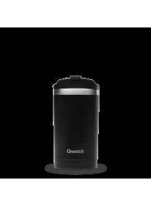 Insulated Stainless Steel Travel Mug, Black