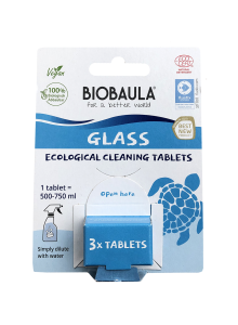 Glass Cleaning Tablets