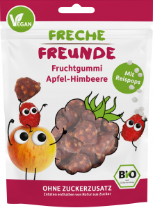 Sugar Free Berry Snack with Apple & Raspberry