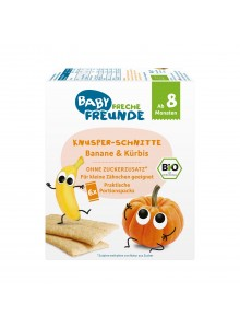 Crunchy Slices, Banana & Pumpkin