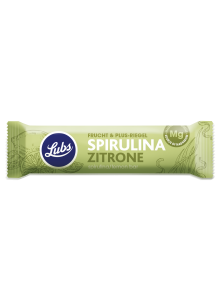 Fruit Bar with Spirulina & Lemon
